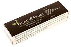 Teeth Whitening Toothpaste with Activated Charcoal - Like Bleaching Gel - Without Whitening Strips