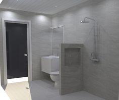 Toilet, Bathtub, Bathroom, House, Ideas, Standing Bath, Washroom, Flush Toilet, Bathtubs