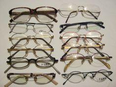 Endet Heute: Restposten: 12 Brillenfassungen verschiedener Hersteller. Posten Nummer 1