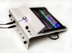 ipad audio desk