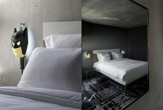 No need for batman, but overall nice color scheme - mama shelter paris by philippe starck