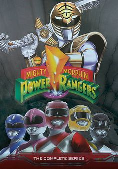 Mighty Morphin Power Rangers: The Complete Series (DVD, 2012, 19-Disc Set)