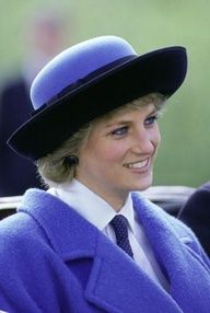 The Princess of Wales at the Glasgow Garden Festival on April 29, 1988