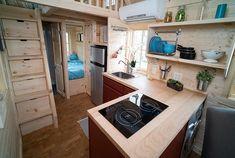 Casa mobile su ruote in legno 30