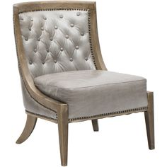 Monroe Leather Occasional Chair - Chairs - Furniture