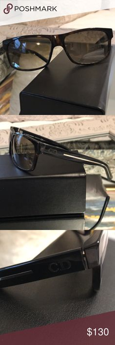 3acd33ab46 Dior Homme Sunglasses Dior Homme Dark Havana Black Crystal sunglasses. New
