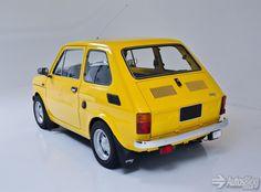 Fiat 126 Autodato Fiat 126, 3d Printer, Vintage Cars, Classic Cars, Automobile, Electric, Vans, Bike, Random