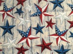 Excited to share the latest addition to my #etsy shop: Stars Stars & More Stars Cloth (4) Dinner Napkins https://etsy.me/2HZ0li1 #housewares #red #independenceday #blue #cotton #stars #beach #cottage #bridalshower