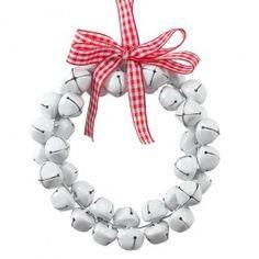 Metal bells with ribbon detail.#poundlandchristmas