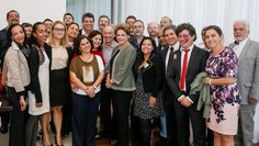 Dilma e a executiva do Planalto em 2016