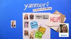 """Yammer v Email, my favorite quote """"email is where knowledge goes to die""""."""