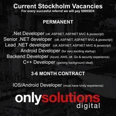 New opportunities  #net #code #coffee #stockholm #java #javascript #react #reactjs #azure #go #unity #developer #technology #tech #startup #ios #android #codetest