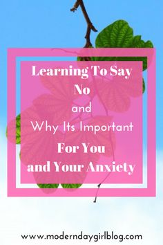Not saying no when you wish you had can be poor for you and your anxiety. Learn why its important and how to say it when you want to.