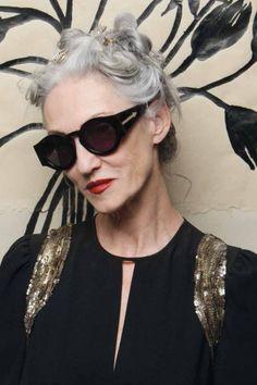 Karen Walker x Advanced Style