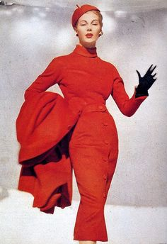Christian Dior 'Red Pepper' dress (1953)