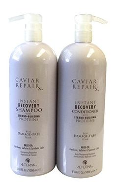Alterna Caviar Instant Recovery Shampoo and Conditioner 33.8 Fl. Oz. DUO >>> See this awesome image @