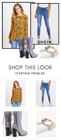 """Sheinside XII/2"" by ruza66-c ❤ liked on Polyvore featuring Sheinside and shein"