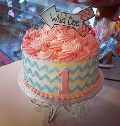 Wild one 1st birthday cake #carinaedolce www.Carinaedolce.com www.facebook.com/carinaedolce