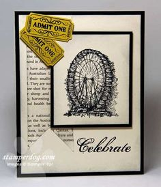 that's the ticket stampin up | Do You Have the Ticket? | Stampin' Up! Demonstrator Ann M. Clemmer ...