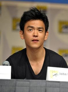 John Cho at Comic Con :)