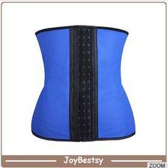Joybestsy-Großhandel Rosa Stahlösen entbeinten 3 Sport Latex Taille Cincher