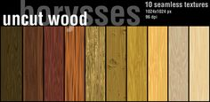 Wood uncut by borysses