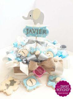 Decorated Cookies - Hospital Favors - Cookie basket www.sweetworkshop.com https://www.facebook.com/thesweetworkshop