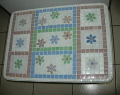 Baú em mosaico