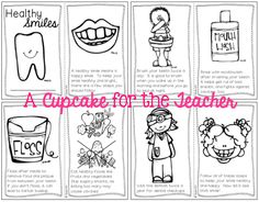 A Cupcake for the Teacher: Dental Health Reader Freebie!