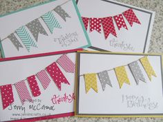 Banners and Boxesby Jenny McCormac | Jemini Crafts