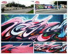 Graffiti Jota One DetonArte - Quito - Ecuador