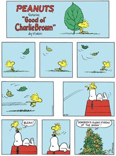 For August 30, 2020 Snoopy And Woodstock, Good Ol, Comic Strips, Autumn Leaves, Peanuts Comics, Jokes, Charlie Brown, Tea Time, Sun