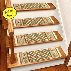 Ivory Rug Carpet Stair Treads Set Of 4 x 8 ** Visit the image link more details. (This is an affiliate link) Ivory Rug, Rugs, Area Rugs, Carpet, Carpet Stair Treads, Rugs On Carpet, Stair Treads, Animal Print Rug, Settings