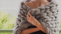 Merino For You offer unique handmade, chunky knit blankets. Merino blankets are prepared from the merino wool – the most valued wool in the world. Knitted Blankets, Merino Wool Blanket, Knitting, Handmade, Trapillo, Hand Made, Tricot, Cast On Knitting, Knits