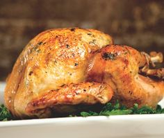 {Happy Canadian Thanksgiving!} Holiday Roast Turkey Recipe // from JoAnn Cianciulli's MasterChef cookbook // photographer Vanessa Stump