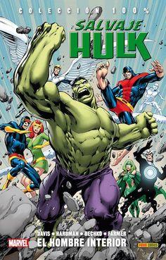Portada de 'Hulk. El hombre interior'
