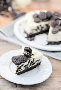 No Bake Oreo Cheesecake