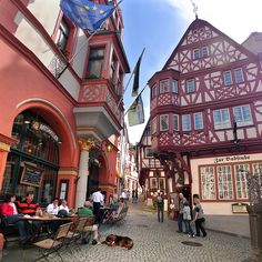 Colorful medieval town Bernkastel-Kues in the Middle Moselle | by B℮n