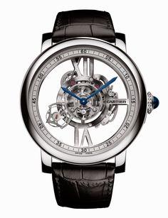 Rotonde de Cartier Astrotourbillon Skeleton watch | Time and Watches