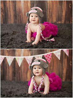 Missy B Photography: 6 Month girl session posing | Walnut Creek, CA Child Photographer