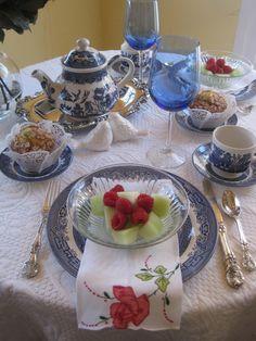 A High Tea Tablescape for a Royal Event