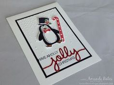 The Craft Spa - Stampin' Up! UK independent demonstrator : Holly Jolly Snow Place Penguin