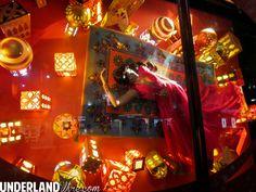 Disney Princess Harrods window display -  Jasmine