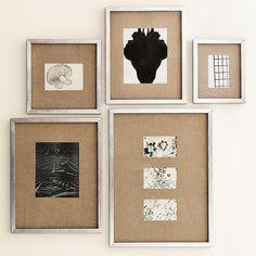 Gallery Frames - Antique Silver | West Elm