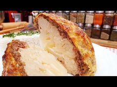Csőben sült egész húsos karfiol, burkolt karfiól @Szoky konyhája - YouTube