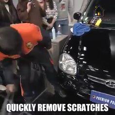😎 Car scratch repair compounds, repair car scars, protect your money. Car Cleaning Hacks, Car Hacks, Car Care Tips, Car Gadgets, Cool Inventions, Home Repair, Car Detailing, Cool Tools, Car Accessories