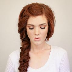 The Freckled Fox: New Hair Tutorial Look and an Announcement