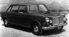 This early attempt at producing a Vanden Plas 1800 used the standard bodyshell as its basis. Note that the boot line has been extended, while the frontal treatment is somewhat redolent of the Triumph Vitesse. Vintage Cars, Antique Cars, Princess Car, Austin Healey, Back Seat, Old Cars, Concept Cars, Jaguar, Classic Cars