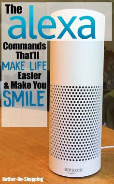 140 Alexa Commands Thatll Make Life Easier and Make You Smile Amazon Echo Tips, Amazon Hacks, Alexa Dot, Alexa Echo, Tablet Apps, Alexa Tricks, Amazon Dot, Amazon Alexa Skills, Alexa Device