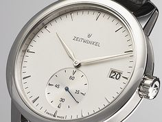 Zeitwinkel Another example of Germans skill to make awesome watches Awesome Watches, Dream Watches, Rolex Watches, Smile, Mens Fashion, Beautiful, Clocks, Watches, Moda Masculina